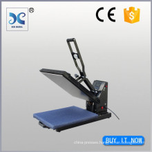 draw out magnetic auto open heat transfer press machine