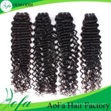 Top-Qualität unverarbeitete reine Haare Remy Menschenhaar