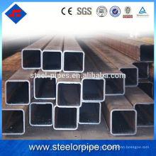 Tubo de tubo de aço redondo, retangular, quadrado de parede fina