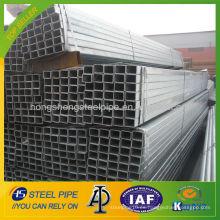 Tubo cuadrado galvanizado ASTM