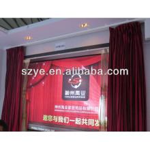 Mando a distancia eléctrico de alta clase cortina de cortina motorizada cortina flexible de la cortina