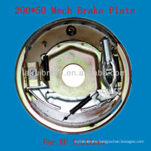 200*50 Mechanical trailer brake back plate Euro market
