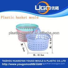 plastic injection fruit basket mould injection basket mould in taizhou zhejiang china