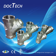 Produto novo de China verificar válvula & Y-tipo linha interna conectando fliter válvula PN16