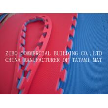 Esteras coloridas del rompecabezas de Tatami de la espuma del gimnasio de EVA, esteras que entrelazan de la espuma de EVA, piso de los deportes de la asamblea EVA Yoga Mats Le. Dd. 002