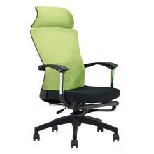 Cadeira de apoio de braço cadeira giratória de escritório altura ajustável preta