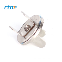 custom silicone resin resinic round shape nickel shirt double snap brass pins button for jeans