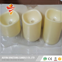 Led color changing candles with remote