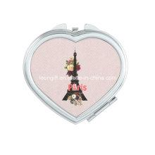 Романтический Париж Эйфелева башня современный свадебный макияж зеркало