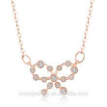 2016 Cheap fashion jewelry pure silver chain necklace custom silver necklace chain