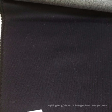 Tela de lã branca de lãs da alpaca da tela do crepe da cor de Lonbow para o revestimento do inverno