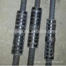 Épissure hydraulique de coupleur de poignée pour relier des barres d'acier