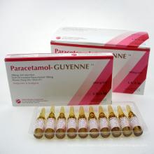 GMP Medicamentos aprobados por la FDA Inyección de paracetamol para antipiréticos y analgésicos