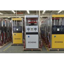Zcheng gasolinera CNG dispensador una manguera