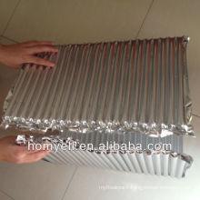 Heat Insulation Laminated Aluminum&Nylon Column Air Packaging Sheet,air tube wall sheet,air column packaging sheet