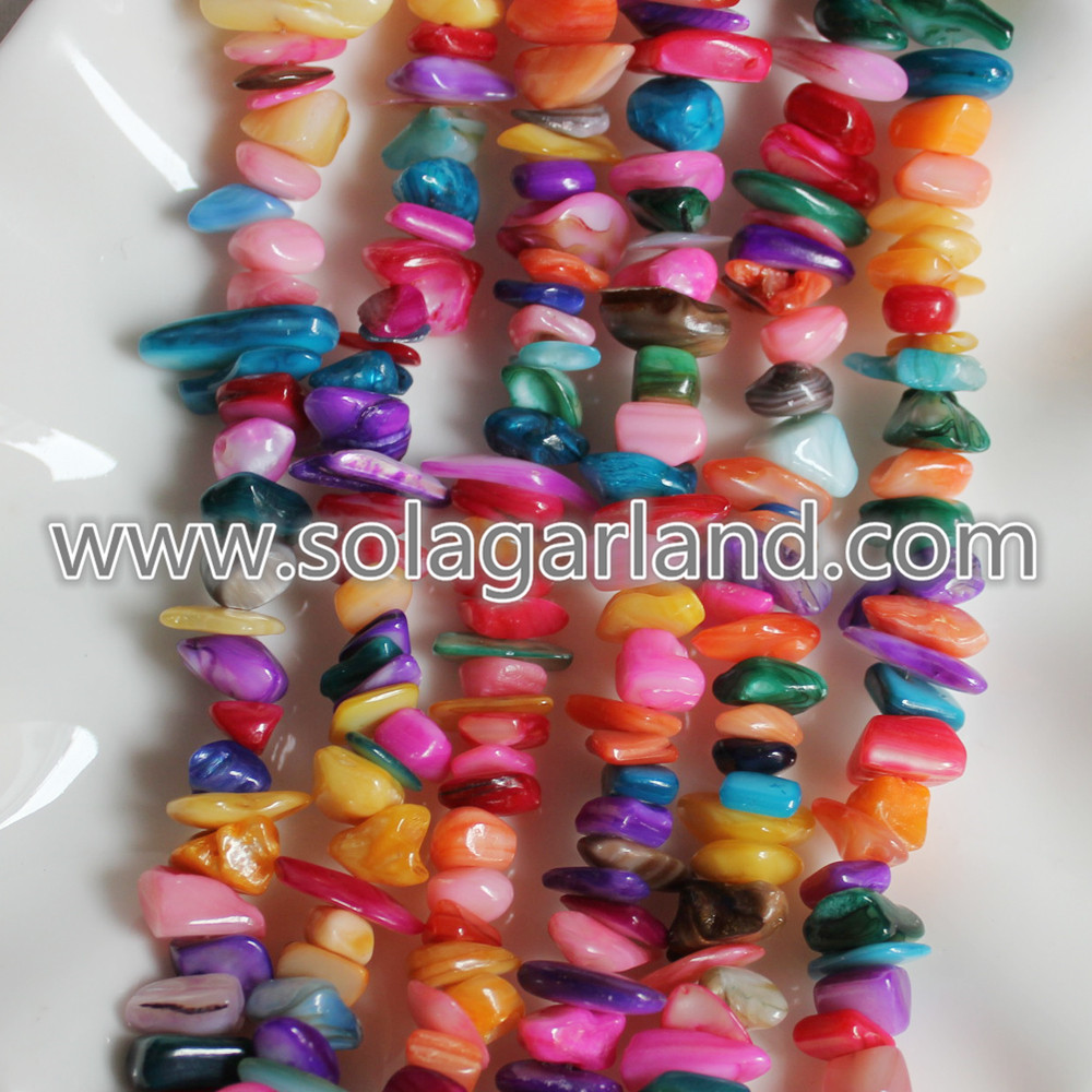 Shell Chip Beads