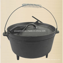 Preseasoned Cast Iron Dutch Oven Manufacturer From China