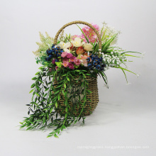 Where to buy modern stylish artificial hanging baskets with flowers