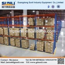 Venta caliente China proveedor depósito de Metal Racks para almacenamiento