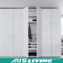 Diseños vendedores calientes del armario del guardarropa del dormitorio para la venta al por mayor (AIS-W026)