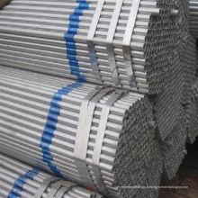 Pipe en acier avec du zinc contiennent