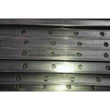 Tube et tuyau de rail de clôture perforés 38X25X1.6mm