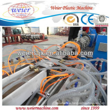 high quality of twin screw extruder machine for WPC decking produce