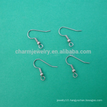 BXG016 wholesale Stainless Steel Earring Hook jewelry findings fish hook