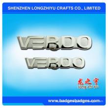 Insignia de plata del logotipo de la letra (LZY-0001087)