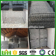 Alibaba Chine Hot Inmersed Galvanized river bank protège le gabion basket / gabion box