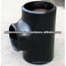 Racores de tubería de acero al carbono