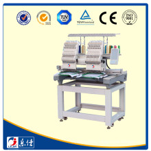 Export 2 Heads Cap Embroidery Machine For Sale