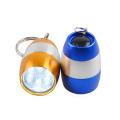 Mini Pocket Torch Keychain Light 6 White LED Egg Flashlight