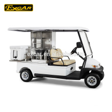 2 seat electric food cart competitive price cart