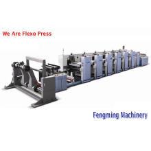 Impressora de Flexografia Roll-Roll