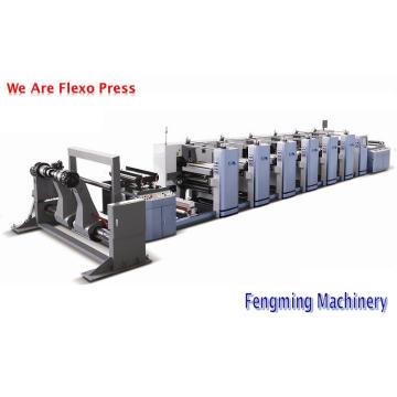 Impresora Flexografía Roll to Roll
