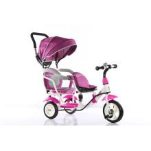 Новый дизайн детские трехколесный велосипед с навесом