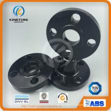 Bride de soudure de douille acier ASME B16.5 A105 carbone avec TUV (KT0012)