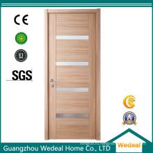 Изготовление шпонированных межкомнатных дверей в индивидуальном стиле для дома