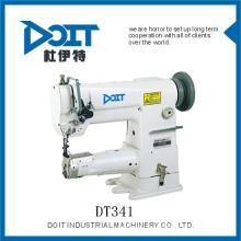 DT341 Single Needle Cylinder Bed con el precio de la máquina de coser de punto de cadeneta de Unision Feed