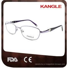 2017 новый стиль ацетат смешанные металлические оптические очки кадров