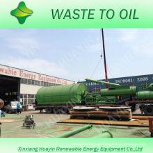 La alta tecnología 8 / 10T utilizó la máquina de la línea de la pirólisis del neumático / del plástico en la India / Rumania / Birmania