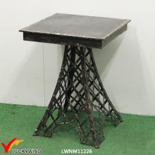 Эйфелева башня Утюг Площадь Античный черный кофе / чайный стол