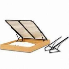 Mola a gás de levantamento hidráulico ajustável giratório para móveis para cama