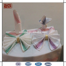 Hot Selling Factory Sale 50 * 70CM serviettes en lin de coton pour le restaurant