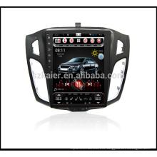 ChinaFactory 10.4''Car Vertical screen Video para Ford Focus 2012-2014 Reproductor de DVD Multimedia Headunit Autoradio con SWC