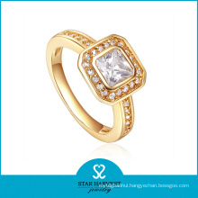 Wholesale Engagement Silver Ring Jewellery with CZ (R-0329)