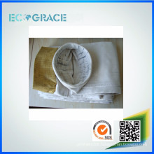 ECOGRACE high temperature resistant fiberglass cloth dust filter bag fabric