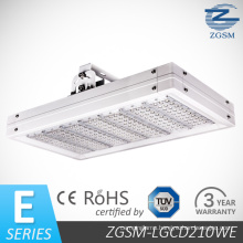 210W LED Canopy Light with Bridgelux Chips Meanwell Driver