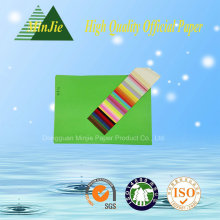 Anti-Curl Feature and Color Paper Paper Type Color Paper in 80GSM